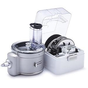 KitchenAid KSM1FPA Food Processor Attachment, White
