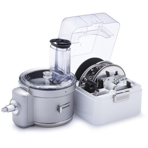 Food Processor Attachment (KitchenAid KSM2FPA Food Processor Attachment with Commercial Style Dicing Kit)