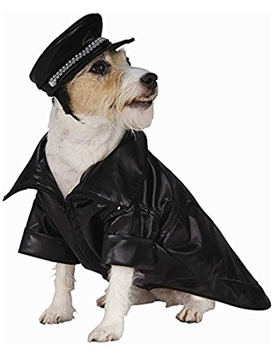 Rubie's Costume Co Biker Pet Costume, Small, Small Biker Dog Dog Costume