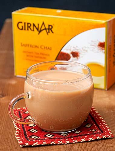 Girnar Instant Chai Premix With Saffron, 10 Sachet Pack