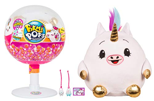 Pikmi Pops Dream the Stretchy Unicorn Jumbo Plush