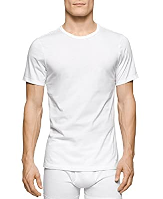 Calvin Klein Men's 3-Pack Cotton Classics Slim-Fit Crew-Neck T-Shirt