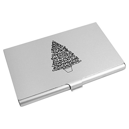CH00002639 Credit 'Christmas Tree' Azeeda Business Wallet Card Holder Card xa8zXwXF