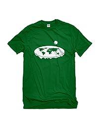 Indica Plateau Flat Earth Mens T-Shirt