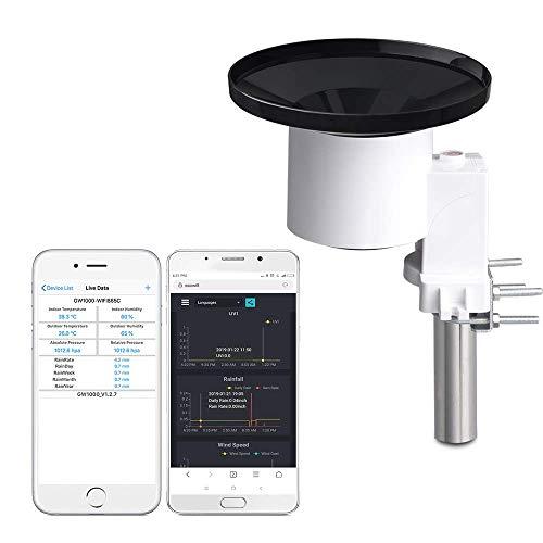 ECOWITT WH40 Wireless Self-Emptying Rain Collector Rainfall Sensor