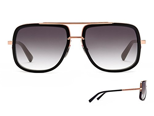 d6d38c9cd0 Sunglasses Dita MACH ONE DRX 2030 L-BLK-RGD Matte BlackRose Gold w  Dark  Grey to