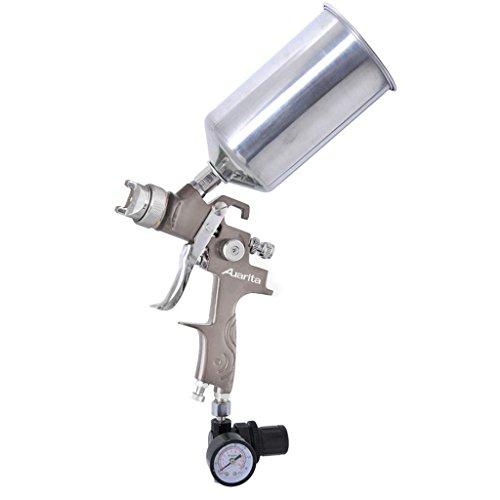 auarita-hvlp-spray-gun-kit-k-350-gravity-feed-design-with-gauge-08mm-nozzle