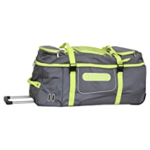 Swiss Cargo Trulite 34 Inch Wheeled Duffel, Gray Green, Checked-Extra Large