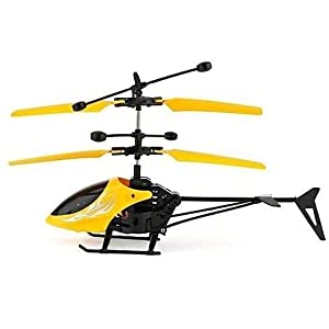 Flying Helicopter with Unbreakable Blades...
