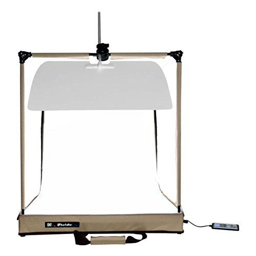 Digpro HL-6058 60cm Photo Studio Iphotobox Lite, Led Lightbox, Beige, compact by DigPro