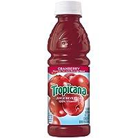 24-Pack Tropicana Cranberry Cocktail Juice 10 Ounce Bottles