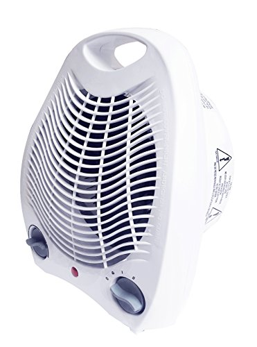 Royal 1500 watt whisper quiet fan space heater compact with smart adjustable thermostat space - Best small space heaters reviews concept ...