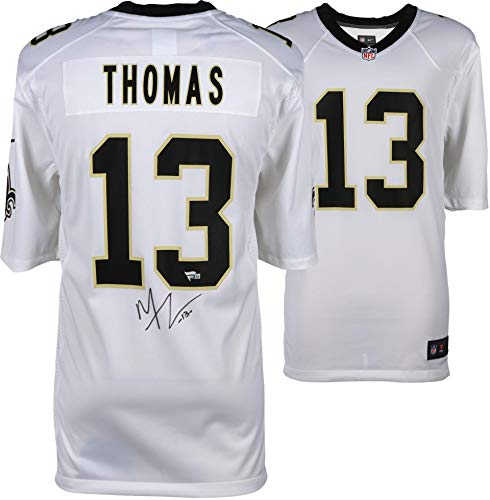 Michael Thomas New Orleans Saints Autographed White Nike Game Jersey - Fanatics Authentic Certified - Autographed NFL Jerseys