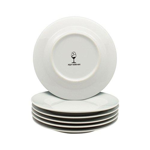 Argon Tableware Wide Rimmed Side/Dessert Plates - 154mm (6'') - Box of 6 by Argon Tableware (Image #2)