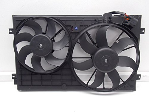 RADIATOR COOLING DUAL FAN FOR VW BEETLE GOLF JETTA RABBIT 2.0 2.5 SBFVW3120100 by Sunbelt Radiators