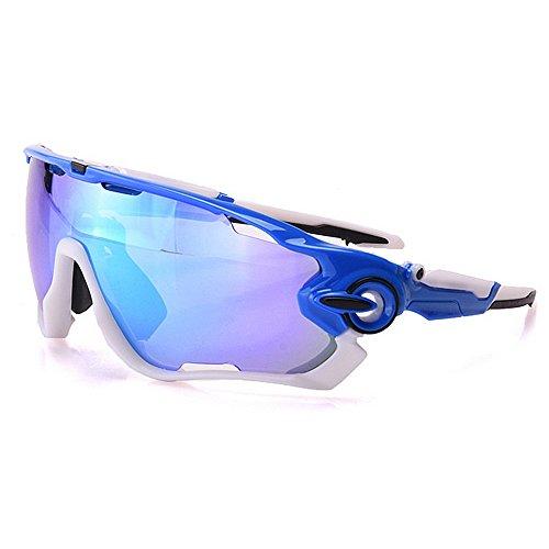 Explosión La Gafas También Y por Mayor Color Sol Flluoresceny Reflexiva Hombres Al Gafas para Hombre De Aire Montan Libre De Al Mujeres Sol Que LBY De de Azul Green Las Gafas Sol wvqZ6xH8B