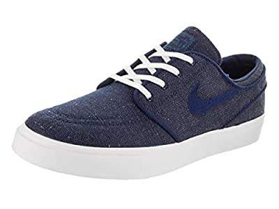 Nike Zoom Stefan Janoski CNVS Mens Skateboarding-Shoes 615957-403_8 - Blue Void/Blue Void-RED Crush-White