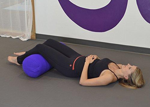 YogaAccessories - Almohada para yoga, diseño cilíndrico ...