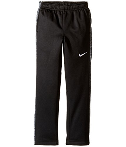 Nike Kids Therma KO Print Fleece Pant Little Kids Black/Cool Grey Boys Casual Pants