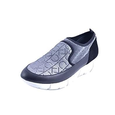 Imagen no disponible. Imagen no disponible del. Color: Calvin Klein Zapatos Slipon Mujer ...
