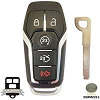 New Oem 5 Button 2015-2016 Ford Mustang Smart Proximity Keyless Remote 164R8119