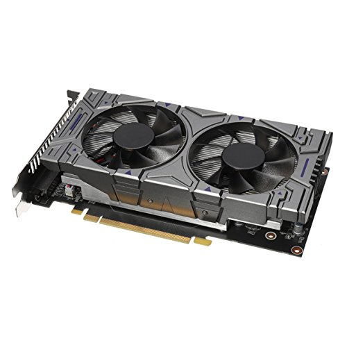 Traumer GTX1060 GDDR5 3GB 192bit Gaming Graphics Card with Cooling Fan Video Card For NVIDIA, Low Consumption and Calorific Value, Black