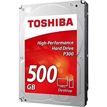 Toshiba 500GB P300 7200 RPM 64MB Cache SATA 6.0Gb/s 3.5