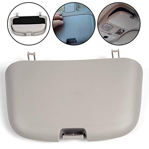 G-PLUS Fit for 1999-2001 Dodge Ram 1500 2500 3500 Car Overhead Console Sunglass Holder Lid with Stronger Latch Front Eyewear Case Storage Box OEM SN96TL2AA