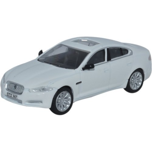 Oxford Diecast 76XF005 Jaguar XF Berline Polaris Blanc