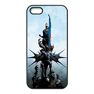 iphone5 5s Case (TPU), batman and superman comic mobile wallpaper 1080x1920 14023 243879998 Cell phone case Black for iphone5 5s - YYTT7890785