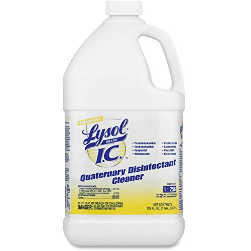 LYSOL 74983 Quaternary Disinfectant Cleaner, 1gal - Quaternary Disinfectant
