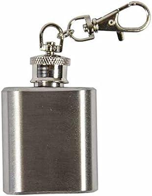 Weddix Llavero Forma de Mini petaca - Divertido idee para ...