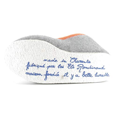 Bas Chaussons Rondinaud Clair Adulte Mixte Calmont Gris p5RqE