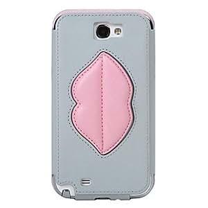 hao 8thdays Monroe's Kiss Series Full Body Case for Samsung N7100 , Green , 6 inch