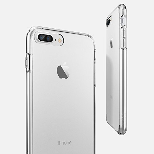Spigen 043CS20547 Ultra Hybrid iPhone 7 Plus Case with Air Cushion Technology and Hybrid Drop Protection for Apple iPhone 7 Plus 2016 - Crystal Clear