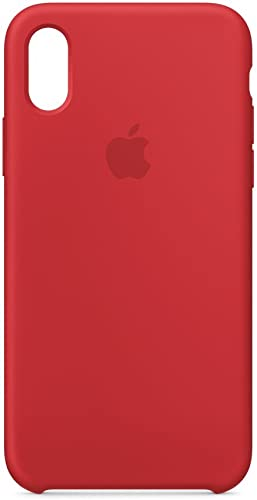 Apple Coque en silicone (pour iPhone X) - Rouge framboise: Amazon.fr