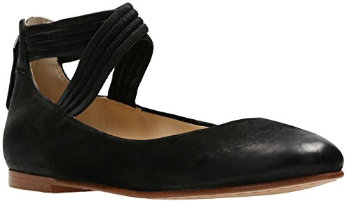 CLARKS - Womens Grace Anna Shoe, Size: 6 B(M) US, Color: Black Nubuck