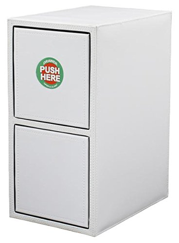 Hipce One Touch 200 CD/DVD Filing Cabinet (White) (Storage 200 Rack Dvd)