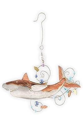 Pilgrim Imports Great White Shark Fair Trade Ornament