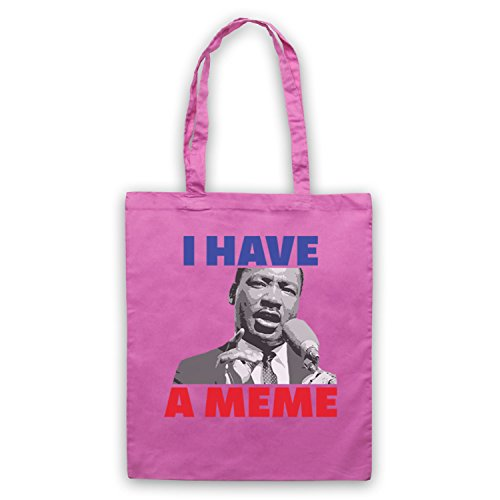 I Have A Meme Martin Luther King Bolso Rosa