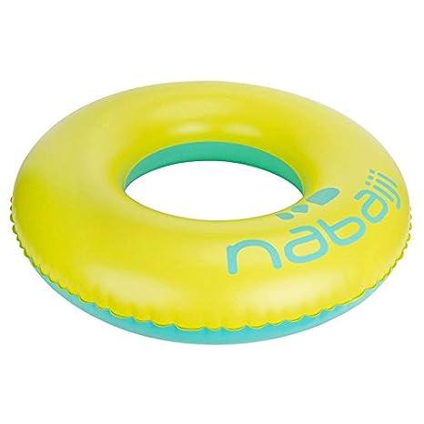 NABAIJI gran flotador 92 cm - amarillo azul: Amazon.es: Deportes y aire libre