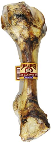 SMOKEHOUSE TREATS Smokehouse 100-Percent Natural Meaty Mammoth Bone Dog Treat