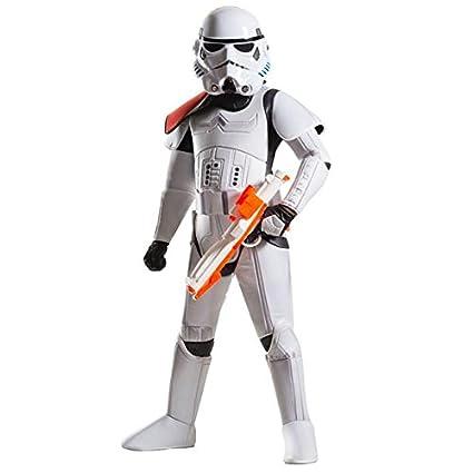 Amazon.com: Star Wars Boys Stormtrooper Costume (Small ...