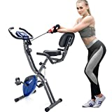 Merax 3 in 1 Adjustable Folding Exercise Bike Convertible Magnetic...