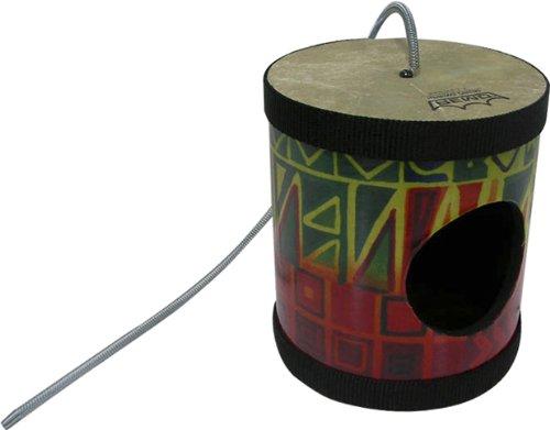 Remo SP0505-17 5 x 5 Inches Spring Drum, Fabric Rainbow