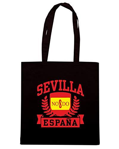 ESPANA Borsa Shirt TSTEM0205 Shopper Speed Nera SEVILLA xz0pZRwq