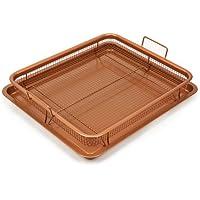Copper Chef Deluxe Copper Crisper Tray, 12X18