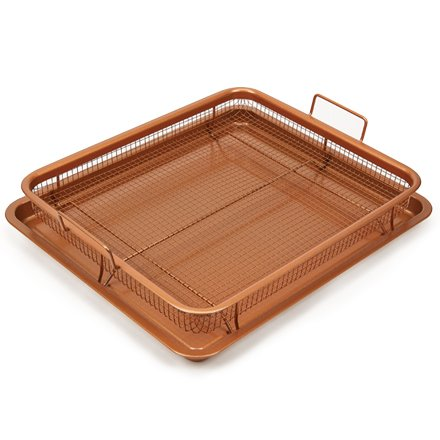 Deluxe Bakeware Set (Copper Chef Copper Crisper Deluxe)