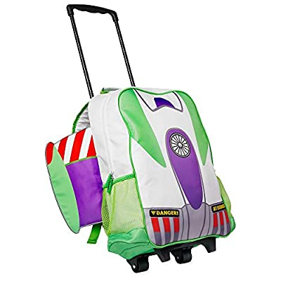 Disney Buzz Lightyear Rolling Backpack: Clothing