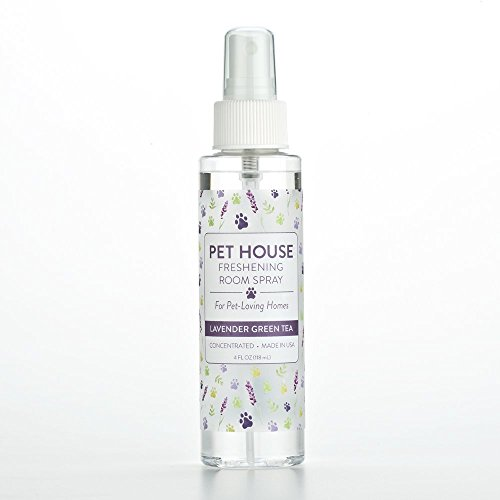 - One Fur All Pet House Freshening Room Spray – Lavender Green Tea - Concentrated Air Freshening Spray Neutralizes Pet Odor - Non-Toxic & Allergen Free Air Freshener – Effective, Fast-Acting – 4 oz